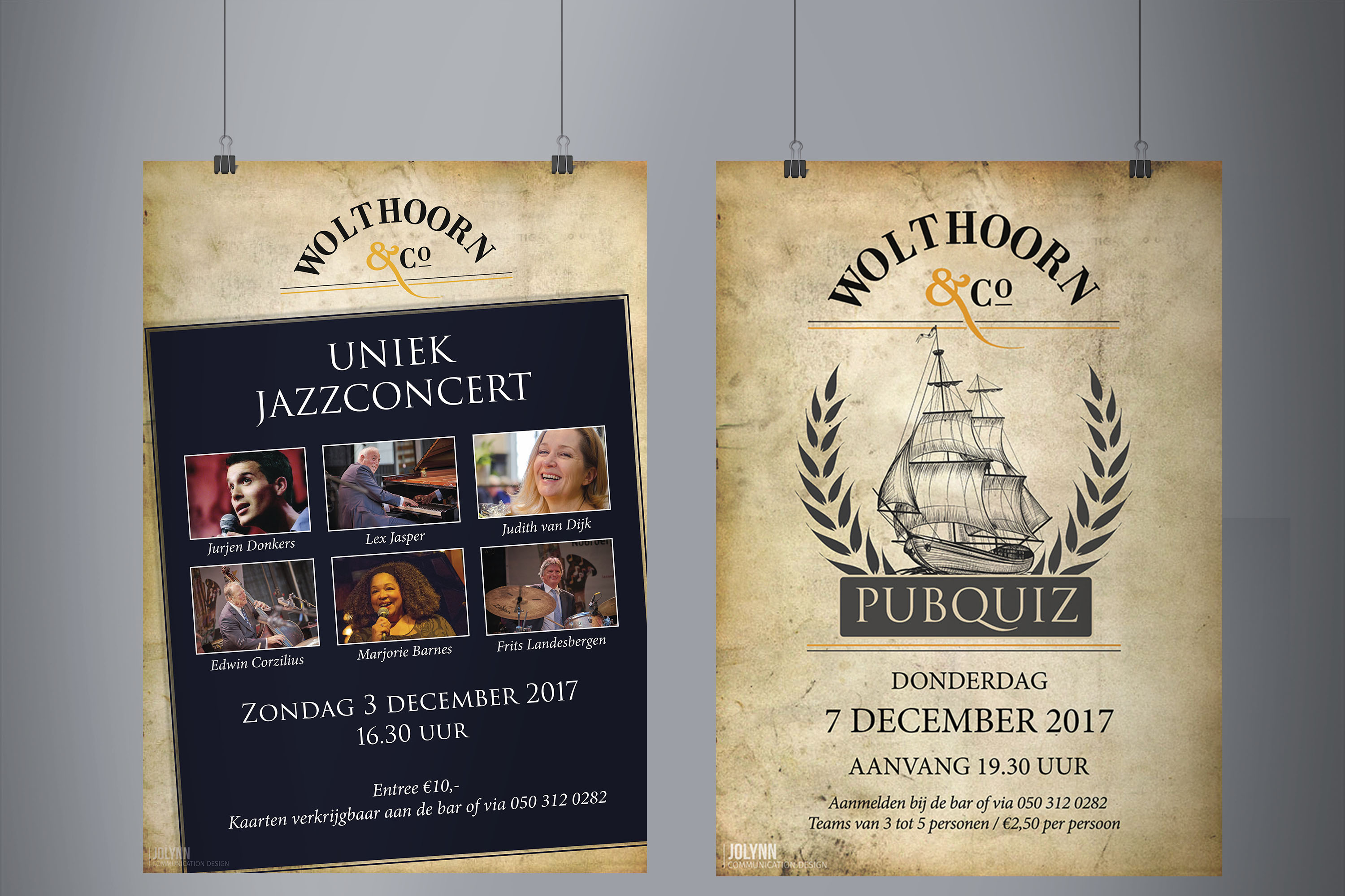 Posters Wolthoorn